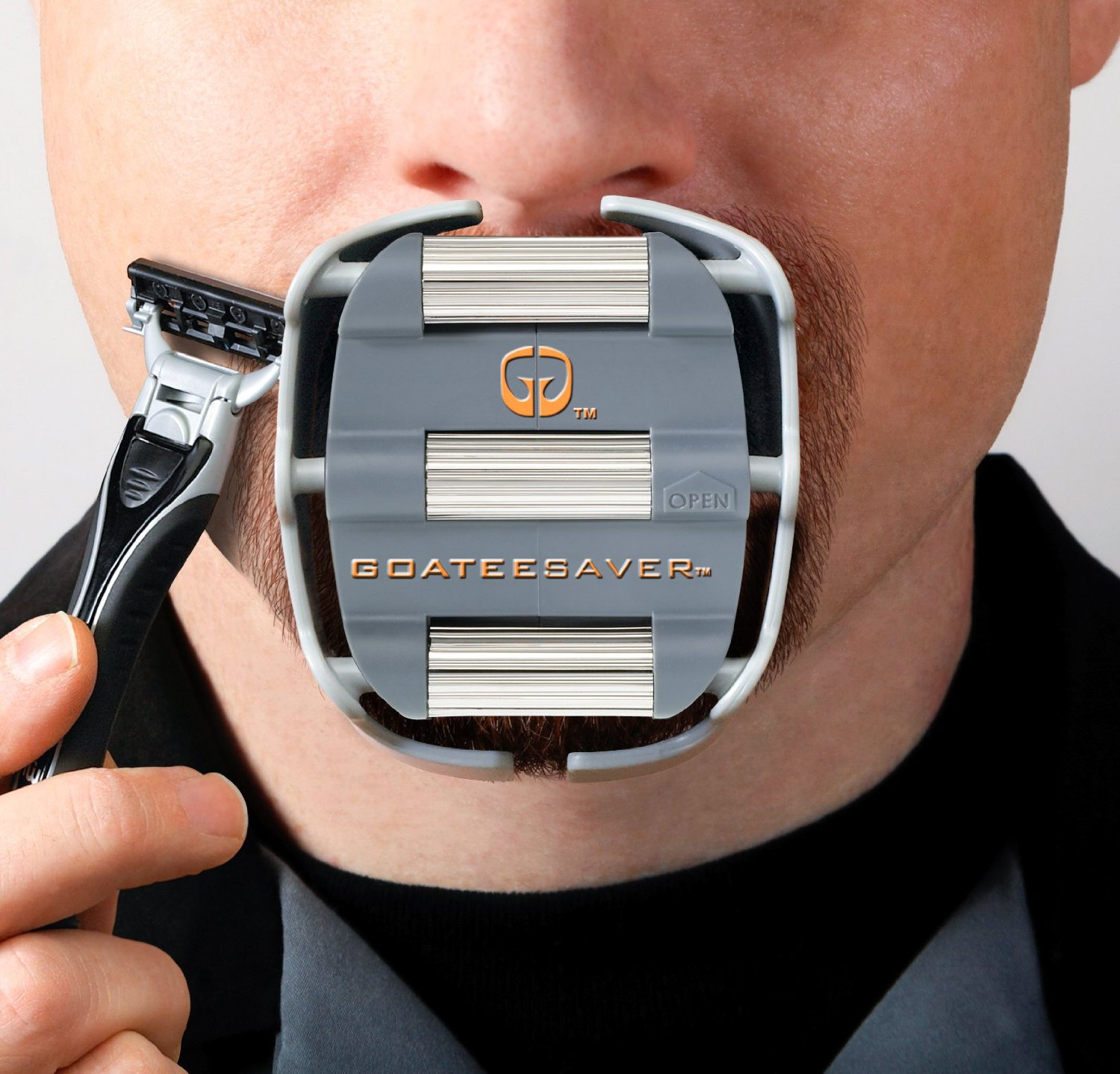 goatee saver review the goatee shaving template best. Black Bedroom Furniture Sets. Home Design Ideas